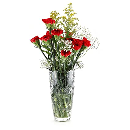 Amazon Rachels Choice Crystal Vases For Flowers Glass Flower