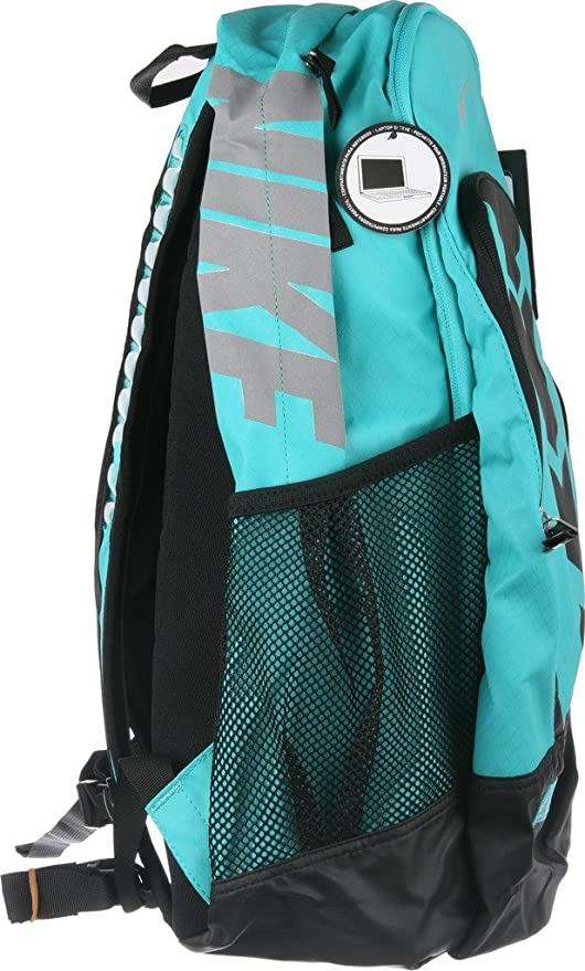 24ee98df92 Amazon.com: Nike Vapor BP Large Backpack Lite Retro Blue/Black/Met Silver:  Sports & Outdoors