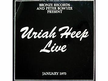 Live January 1973 Lp Amazon Com Music