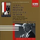 Messa Da Requiem / Te Deum : Live Recordings 1958 & 1960
