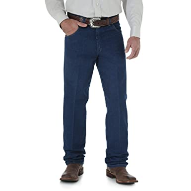 04ac8001 Wrangler Men's Cowboy Cut Relaxed Fit Jean at Amazon Men's Clothing store: