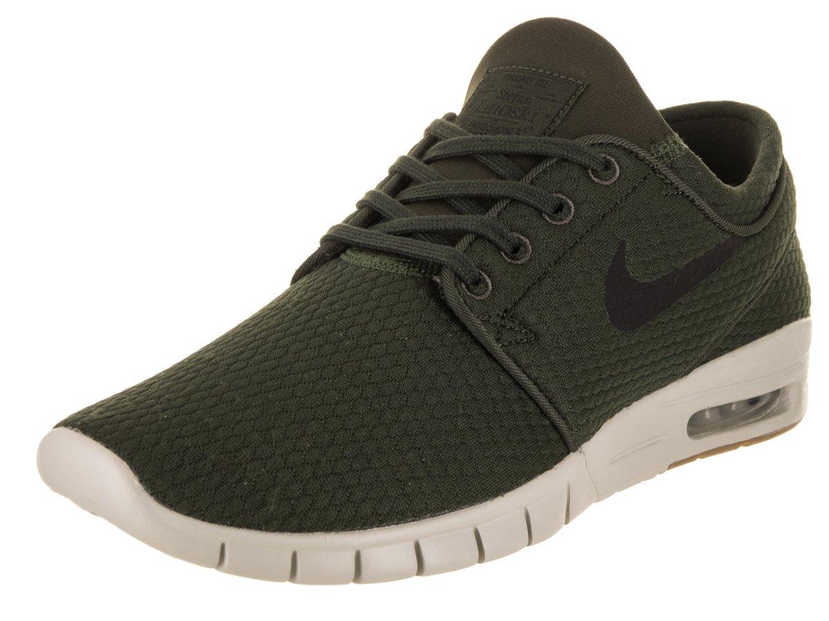 Nike Unisex-Erwachsene Stefan Janoski Max 631303-302 Sneaker  47.5 EU|Gr眉n (Sequoia/White)