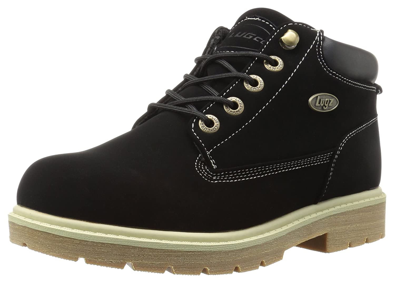 Lugz Women's Drifter Lx Chukka Boot B015AIB550 9.5 B(M) US|Black/Cream/Gum