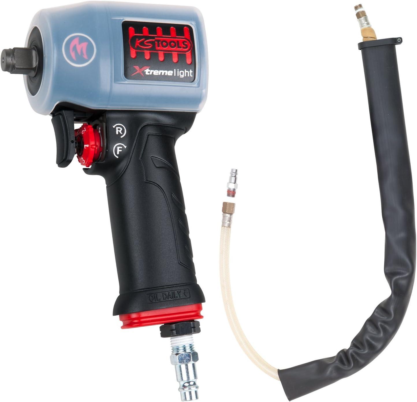 KS Tools 515.1155 miniMONSTER Xtremelight - Llave de impacto de aire comprimido, 515.1155