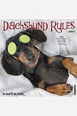 Dachshund Rules 2020 Wall Calendar (Dog Breed Calendar) Calendar