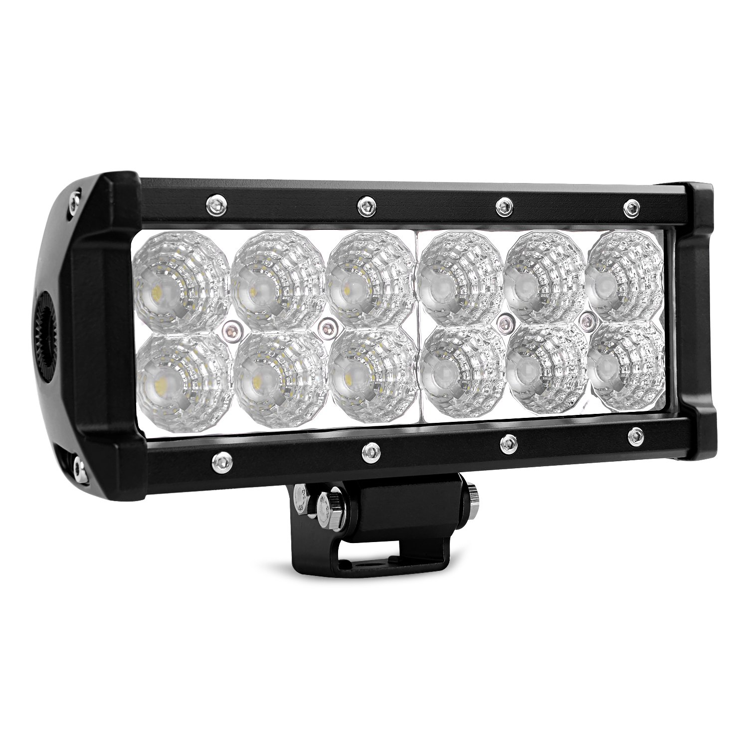 LED/ Light Bar/ Nilight/ 52Inch 300W/  Spot Flood Combo LED Driving Lamp Off Road Lights LED Work Light/ for Trucks/ Boat Jeep Lamp,2 Years Warranty
