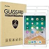 "[2 Pack] ProCase iPad 9.7"" (2018 & 2017) / iPad Pro 9.7 / iPad Air 2 / iPad Air Screen Protector, Anti Scratch Tempered Glass"