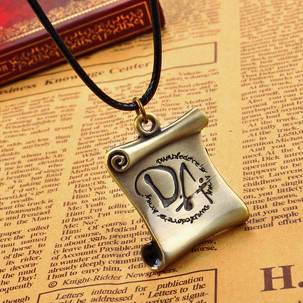 Cadena de Harry Potter Dumbledore EjšŠrcito Da Log metal ...
