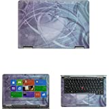 """Decalrus - Matte Decal Skin Sticker for Lenovo THINKPAD YOGA with 12.5"""" Touchscreen (NOTES: Compare your laptop to IDENTIFY image on this listing for correct model) case cover MATThinkpadYoga-260"""