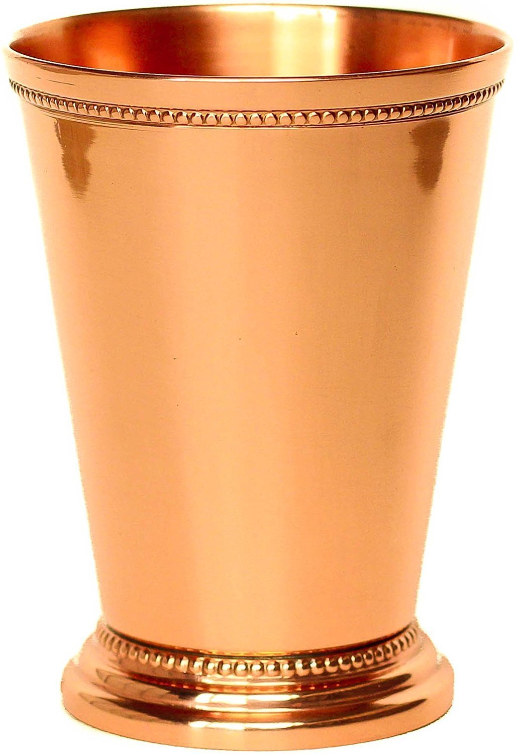 PARIJAT HANDICRAFT Mint Julep Cup Pure Copper Moscow Mule Mint Julep Cup beautifully handcrafted Capacity 12 Ounce