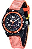 Sector No Limits - R3251197049 - Expander 90 - Pendule Homme - Quartz Analogique - Cadran Noir - Bracelet Nylon Orange