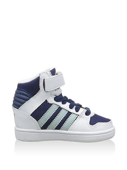 Les Abotinadas Adidas Jouent Pro Blanco 2 Cf I / Bleu Marine 22 (c Uk 5.5) Akdkm757Z