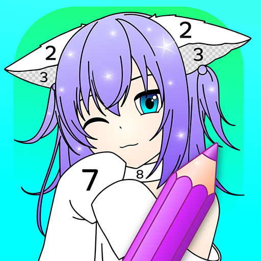 Amazon.com: Anime Manga Color By Number - Kawaii Coloring Book: Appstore  For Android
