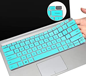 CaseBuy Ultra Thin Keyboard Protector for 2020 New Dell XPS 13 2in1 7390 Laptop, Dell XPS 7390 Keyboard Cover, Only for 2-in-1 Version, Mint