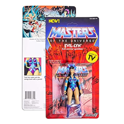 Super7 Masters of The Universe Vintage Wave 4 Collction Evil-Lyn Action Figure: Toys & Games