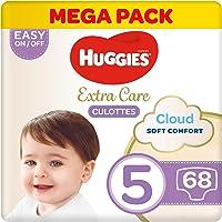 Huggies Extra Care Pants - Size 5, Mega Pack, 12-17 kg, 68 Diapers Pants