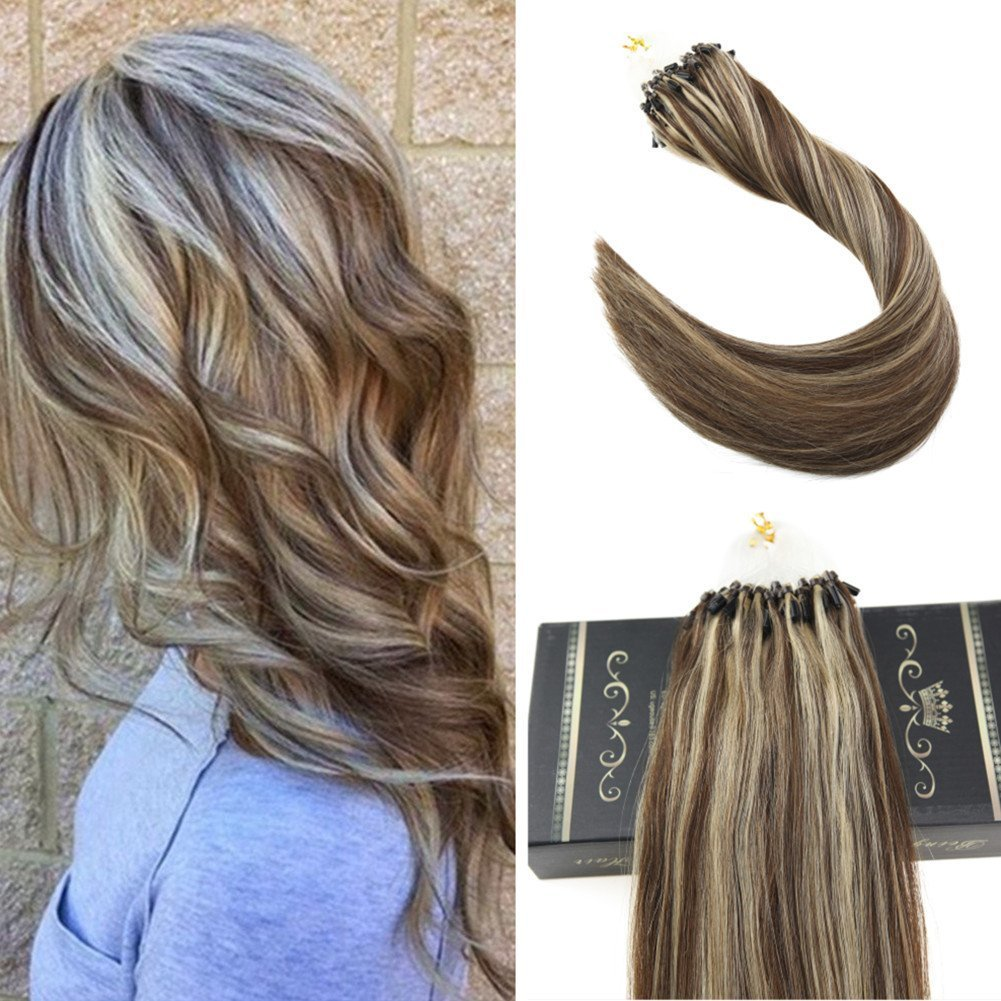Amazon Ugeat 18 1gs 50strands Micro Loop Hair Extensions Dip