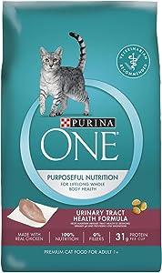 Purina One Urinary Tract Health Formula Adult Premium Cat Food - (6) 3.5 Lb. Bags