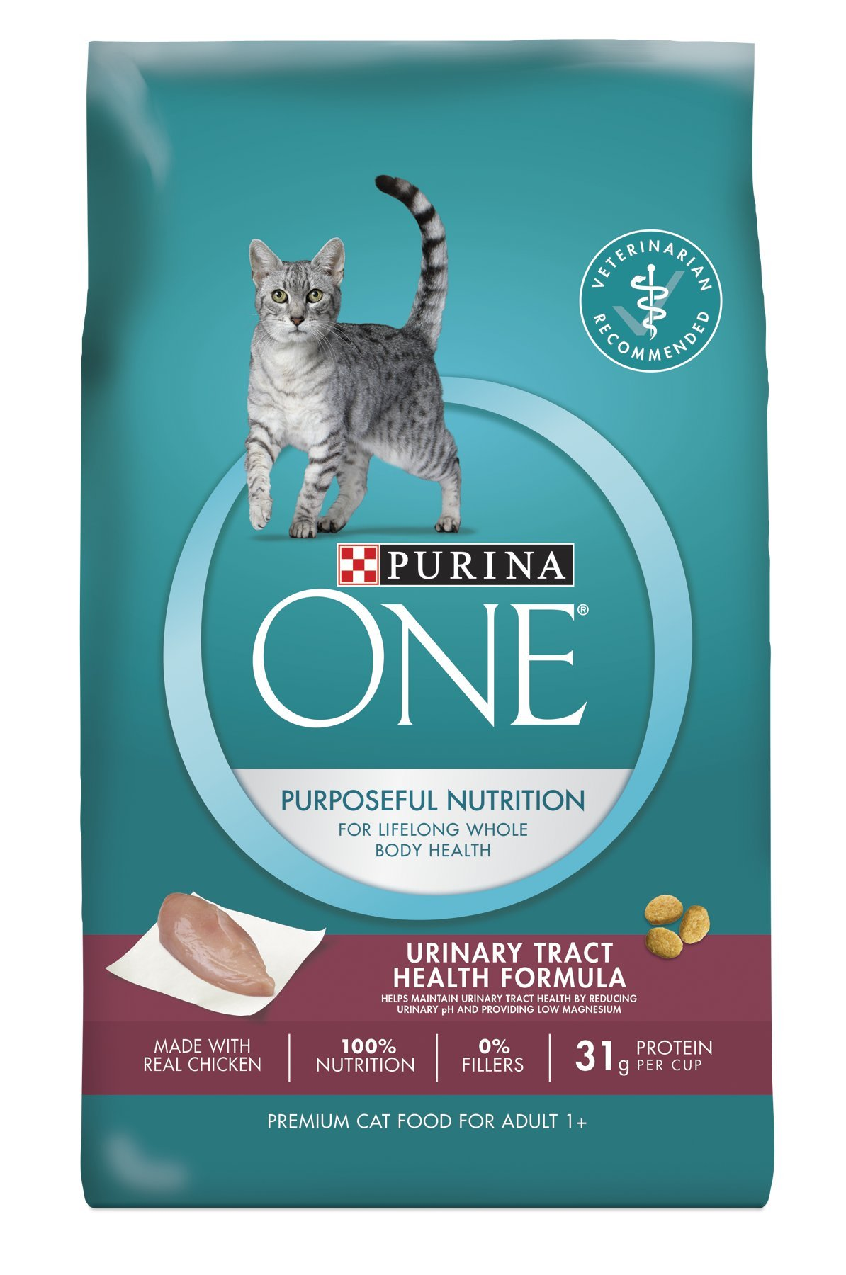 Purina ONE Urinary Tract Health Formula Dry Cat Food Standard Packaging