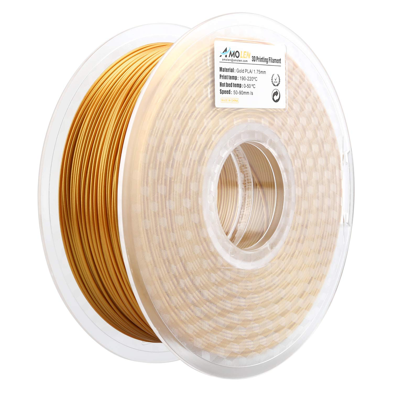 Computers/tablets & Networking Standard Print Co. 2019 New Style 3d Printer Filament Petg Natural 1.75mm 1kg