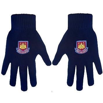cd8e863de9eb West Ham United Gloves Blue  Amazon.co.uk  Sports   Outdoors