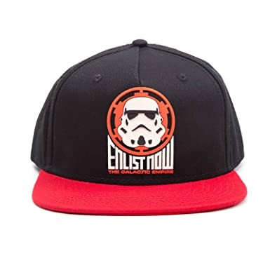 1d6c47f55cf70 Image Unavailable. Image not available for. Color  Star Wars Baseball Cap  Galactic Empire Stormtrooper ...