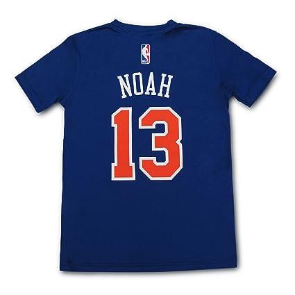 99e4f9fcba8a Joakim Noah New York Knicks  13 NBA Youth Climalite Player T-Shirt Jersey (