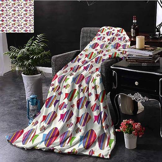 GGACEN - Manta para sofá de Carreras, diseño de Gato y Perro en la ...