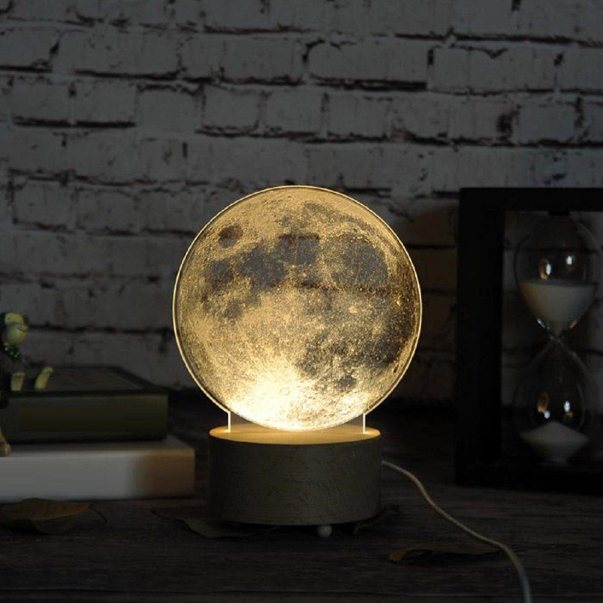 RAING Nordic Designer Kreative Kreative Kreative DIY Carving Muster Nachtlichter Jungen und Mädchen 3D Nachtlichter Schlafzimmer Nachttisch Tischlampen (8 Muster Muster optional), b B07CNSTTCR | Angemessener Preis  6c8375
