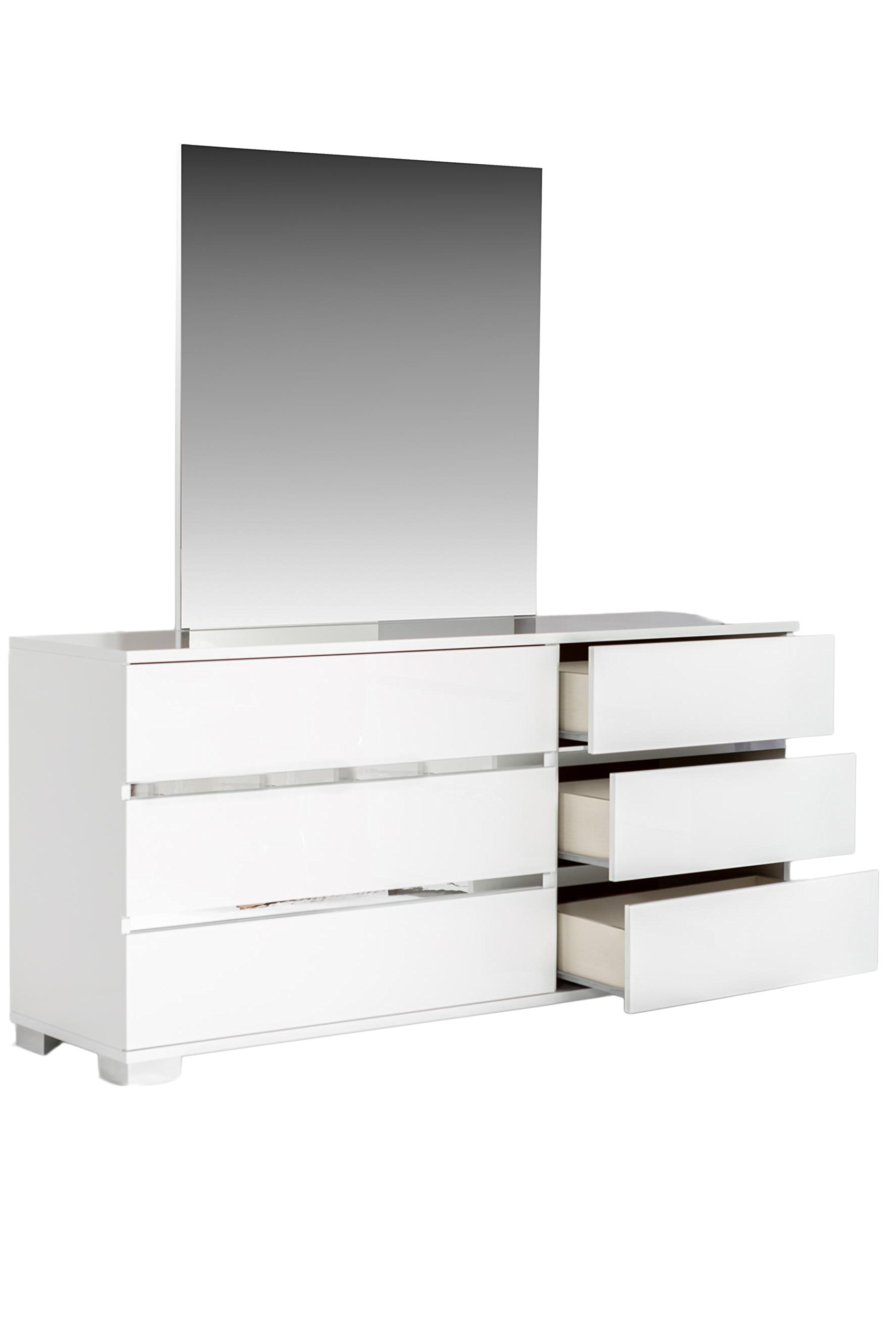 At Home Skuathnw Athens White 2D Nightstand