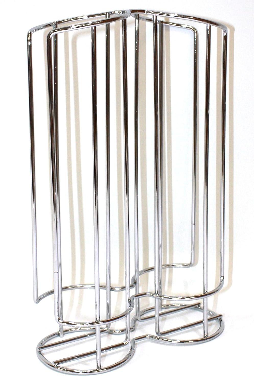 Centimeters Acero Fackelmann Porta c/ápsulas Tassimo Cromado
