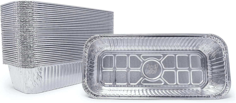 (35 Pack) Drip Pans Compatible with Weber Grills Smokefire and Summit 400/600 Series l Summit gold 6-burner l Summit Platinum burner l Genesis II 400 & 600 l Disposable Aluminum Foil: Kitchen & Dining