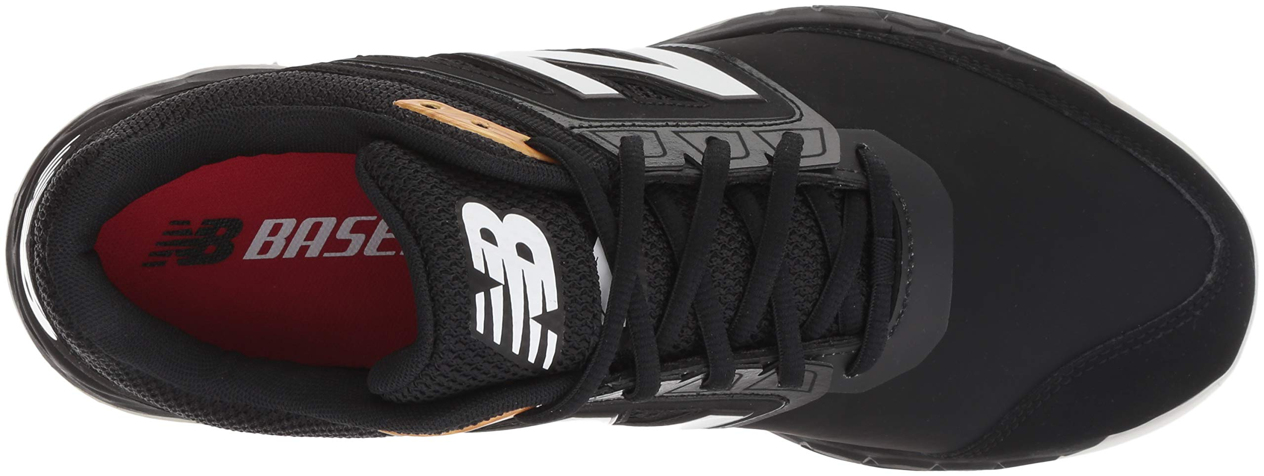 New Balance Men's 3000v4 Turf Baseball Shoe, Black, 5 D US by New Balance (Image #8)