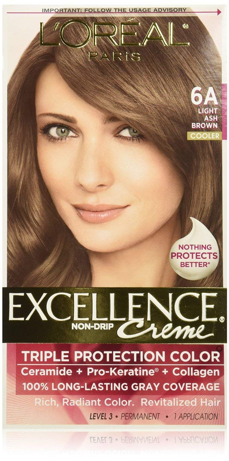 L'oreal Excellence Creme 6a Light Ash Brown