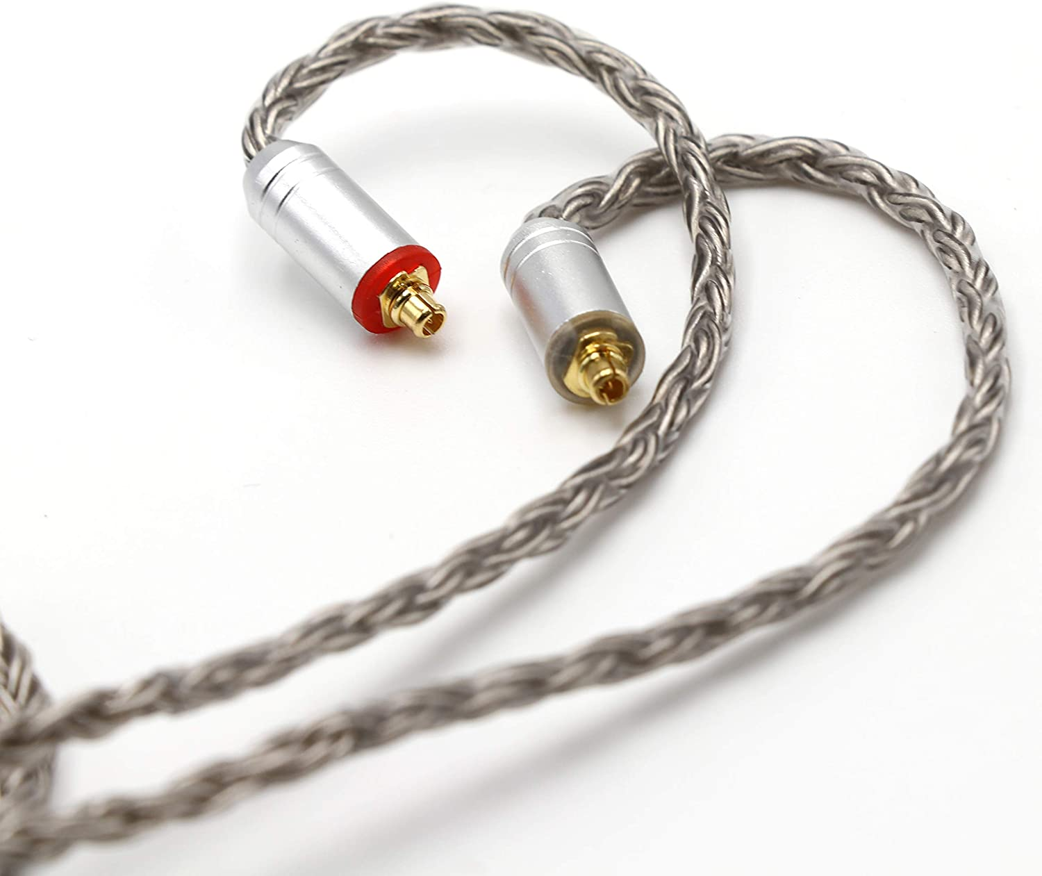 Linsoul Tripowin Zonie 16 Core Silver Plated Cable SPC Earphone Cable 2pin 0.78-2.5mm, Gold