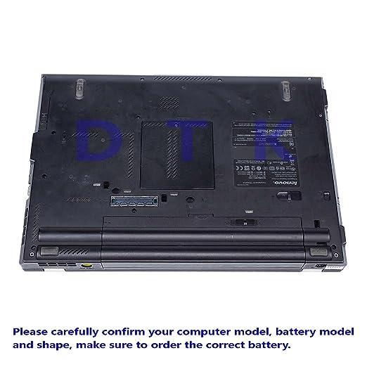 DTK® Batería para Lenovo IBM Thinkpad E40 E50 0578 E420 E425 E520 E525 L410 L412 L420 L421 L510 L512 L520 Sl410 Sl510 T410 T420 T510 T520 [10.8V 6600MAH]: ...