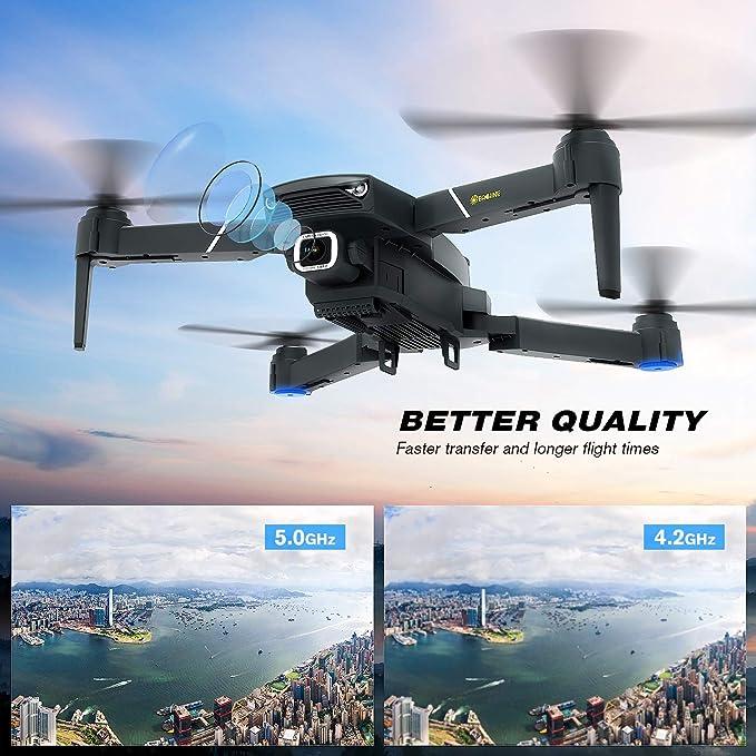 EACHINE E520S Drone con Camara HD Drone 4k Drone GPS Drones con ...