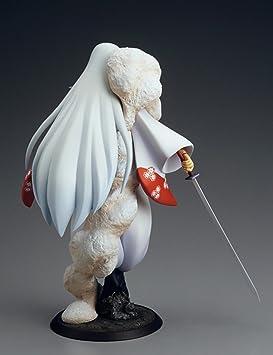Anime Inuyasha Sesshomaru 1//8 PVC Figure Figurine Model New Toy No Box 23cm