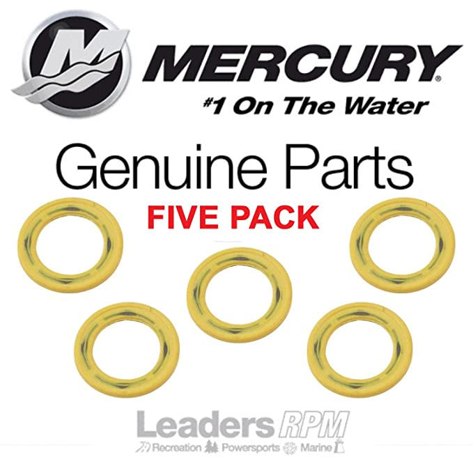 Mercury Mariner Outboard Gearbox Drain Plug Seal pn 26-830749