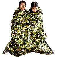 Top Lander Notfall Survival Schlafsack leicht Wärmedämmung KOMPAKT Outdoor Fisrt Hilfe Gear Wasserdicht Bivy Sack für Camping Wandern Rucksackreisen