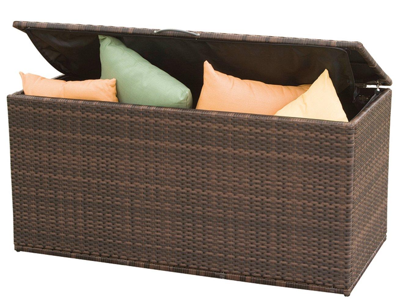 Siena Garden 105626 Universalbox Cadiz, bi-color mocca L131xB61xH65cm