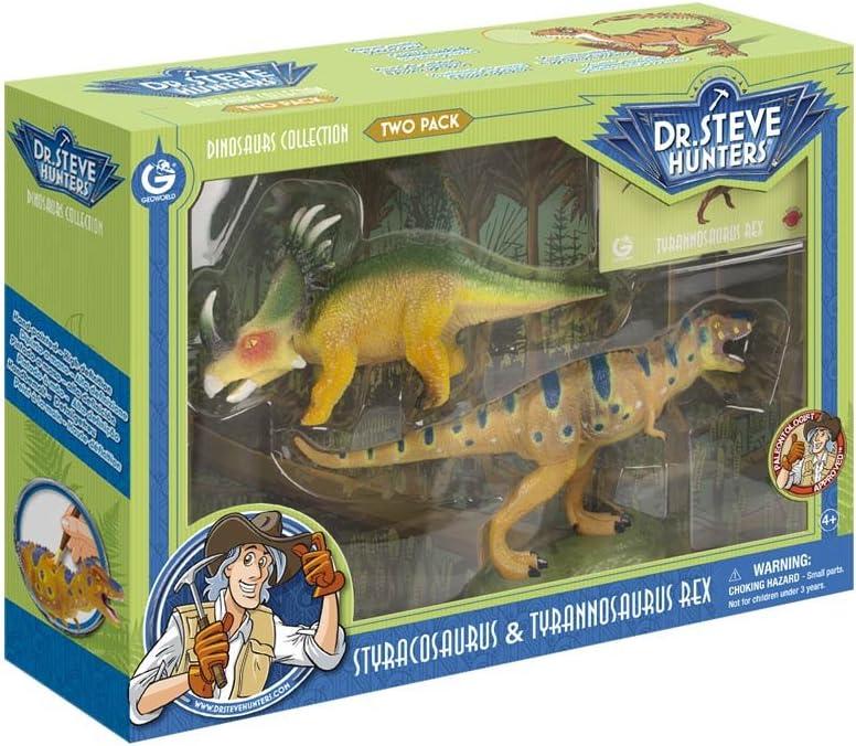 Dinosaurs Collection - Two Pack- Tyrannosaurus Rex & Styracosaurus: Amazon.es: Juguetes y juegos