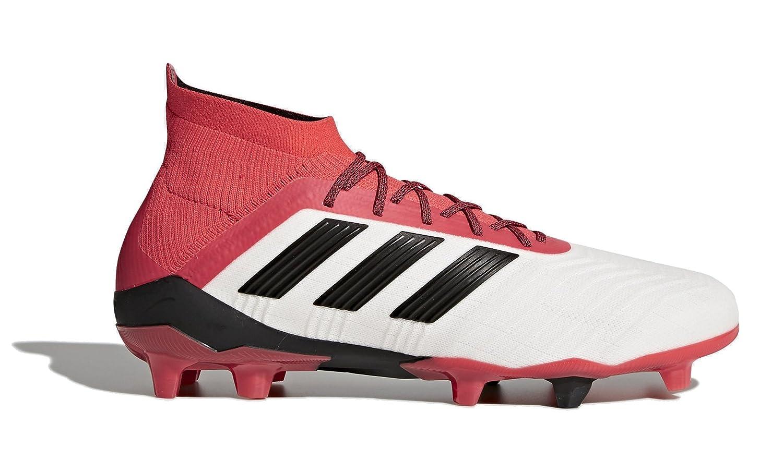 adidas メンズ アスレチック B07934MB3QWhite, Red, Black 9.5