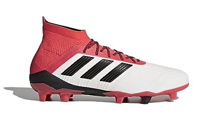 new style ee252 c582e adidas Mens Predator 18.1 FG Soccer Cleat, 8.0 D(M) US, Footwear