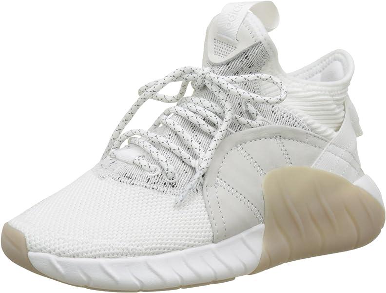 official photos bb9de 5a518 adidas Unisex-Erwachsene Tubular Rise Sneakers Weiß Footwear White, 44 2 3  EU