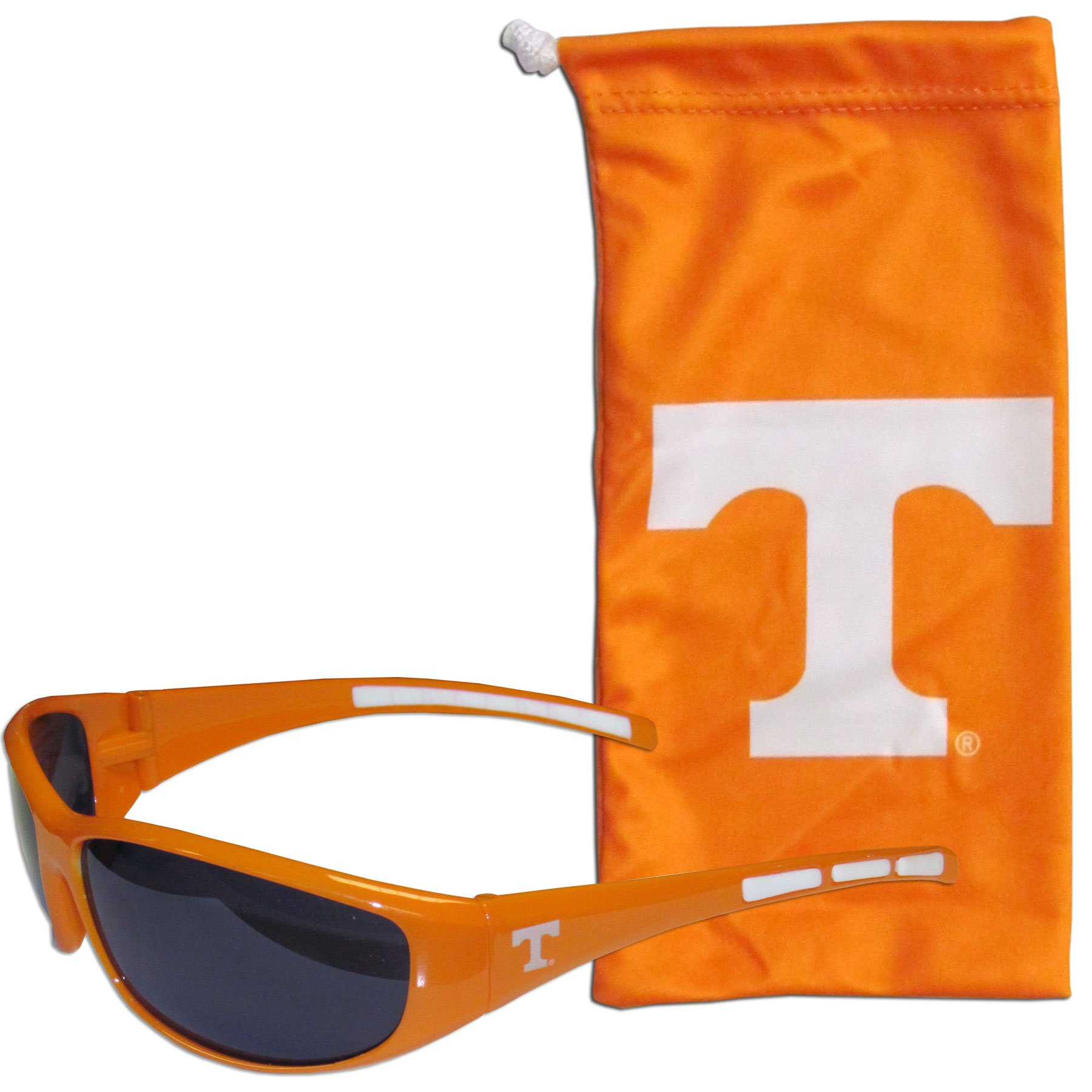 Siskiyou NCAA Tennessee Volunteers Adult Sunglass and Bag Set, Orange by Siskiyou (Image #1)