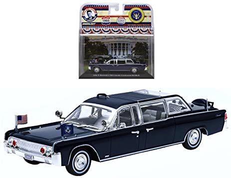 Greenlight Limited Edition Presidential Limousines John F. Kennedy & Johnson  1960 1:43 Scale