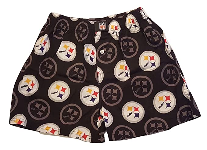 58fdd96d Gertex Pittsburgh Steelers Men's Boxer Shorts - NFL Boxer Brief ...