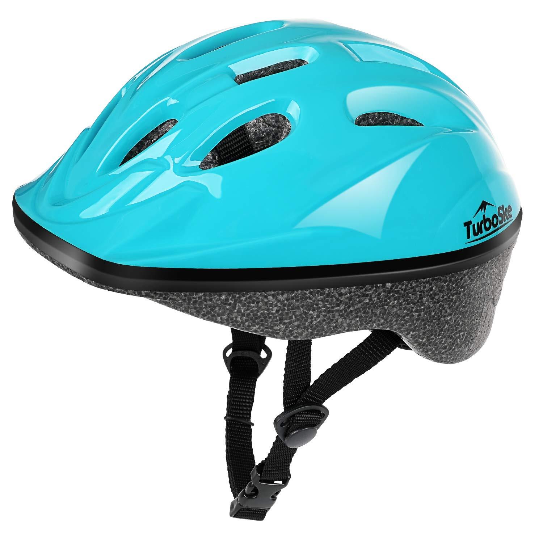TurboSke Child Helmet, Kid's Multi-Sport Helmet (Bright Blue)