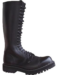 Steels 15 Loch Boots Schwarz